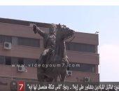 """بالفيديو .. سألنا المواطنين: تماثيل الميادين بتشاور على إيه؟ .. ردوا: """"ناس تنكة هنعمل لها إيه"""""""