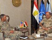 المتحدث العسكرى ينشر نتائج لقاء الفريق حجازى وقائد القوات البرية الأمريكية