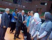 محافظ جنوب سيناء يفتتح البطولة الأفريقية لكرة الهدف بشرم الشيخ