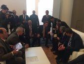رئيس البرلمان يلتقى مرشحة أوروجواى لرئاسة الاتحاد البرلمانى الدولى