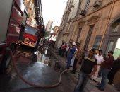 الحماية المدنية تسيطر على حريق شب فى منزل بأحد قرى المنصورة