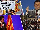 """أزمة كتالونيا على شفا الانفجار.. انتهاء مهلة إعلان موقف رئيس الإقليم من الانفصال.. إسبانيا تستكمل إجراء تعليق الحكم الذاتى وتعتزم إقالة """"بوجديمون"""" وحل البرلمان الإقليمى.. والرئيس الكتالونى يهدد بإتمام الاستقلال"""