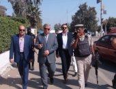 """مدير أمن المنوفية يتفقد قوات الأمن بـ""""قويسنا"""" و""""ميت أبو شيخة"""""""