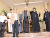 محافظ جنوب سيناء يلتقى أسقف المحافظة لإقامة قداس ذكرى ضحايا الطائرة الروسية