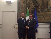 وزير خارجية إيطاليا لسفير مصر فى روما:القاهرة شريك لا يمكن الاستغناء عنه