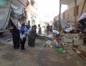 حملة بمدينة فايد لرفع الإشغالات وفتح شارع مغلق بوسط المدينة