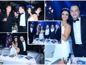 الهضبة يحيى حفل زفاف تامر عبد المنعم بحضور نجوم الفن والمشاهير