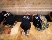 بالصور.. تدريب أطفال بكاليفورنيا على مواجهة الزلازل