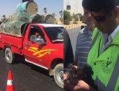 """""""مرور الجيزة"""" تضبط 366 مخالفة متنوعة بقطاع أكتوبر"""