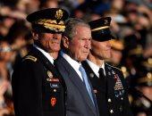 """بالصور.. بوش يهاجم ترامب ضمنيا وينتقد """"التنمر والاضطهاد"""""""