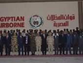المتحدث العسكرى ينشر صور تخرج الكوادر الدارسين الوافدين من 20 دولة أفريقية