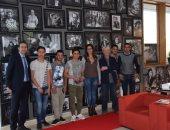 """بالصور.. الأكاديمية المصرية بروما تطلق برنامج """"فنك وطنك فى غربتك"""""""
