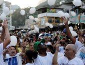 """بالصور.. احتجاجات واسعة ضد عنف الشرطة البرازيلية فى """"ريو دى جانيرو"""""""