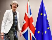 رئيسة وزراء بريطانيا تلتقى نظيرها الهولندى فى لاهاى