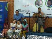 بالصور ..أطفال السودان يتفاعلون مع نظرائهم المصريين بمعرض الخرطوم