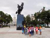 الكوبيون يؤكدون رفضهم للحصار الاقتصادى الأمريكى على بلدهم