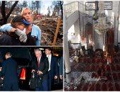 """العالم هذا الصباح.. بالصور.. سقوط صاروخين وسط """"كابول"""" ومقتل 72 شخصا فى هجمات إرهابية.. مقتل 26 فى اشتباكات بأفريقيا الوسطى.. ووزير الخارجية الأمريكى يبدأ زيارته للشرق الأوسط"""