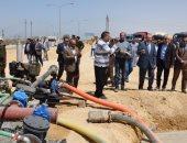 محافظ بنى سويف ينجح فى حل مشكلة الصرف الصناعى بمنطقة بياض العرب الصناعية