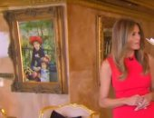 لوحة لفنان فرنسى فى بيت ترامب تشعل حرب فنية فى أمريكا