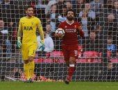 محمد صلاح أفضل لاعبى ليفربول أمام توتنهام فى الدوري الإنجليزي