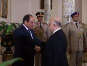 مجلس الوزراء العراقى يناقش نتائج زيارة العبادى لمصر ورؤيته لاستقرار المنطقة