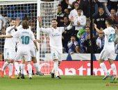شاهد.. ريال مدريد يحقق الفوز الرابع على التوالى بالليجا بثلاثية فى إيبار