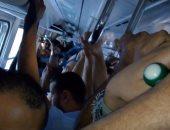 قارئ يشكو من زحام محطة مترو عزبة النخل ويطالب بزيادة عدد القطارات صباحا