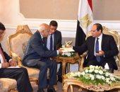 """وزير الخارجية الهندى لـ""""السيسى"""": مصر تحدث فارقا فى تشكيل الشرق الأوسط"""