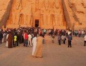 تعرف على أمنيات وزراء السياحة والثقافة والآثار بخط أيديهم لمدينة أبوسمبل