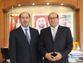 هشام بدر يلتقى سفير الإمارات فى روما لبحث تنمية التعاون الثنائى