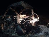 بالفيديو والصور.. ننشر آثار الضربات الجوية على العناصر الإرهابية بالواحات