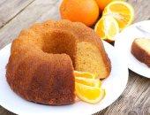 طريقة عمل كيكة البرتقال فى البيت
