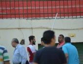 بالصور.. اشتباكات بين لاعبى غزل المحلة والبلدية بعد فوز الغزل بثنائية