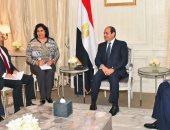 """السيسي يعرب عن تطلع مصر لتطوير التعاون مع """"داسو"""" الفرنسية المصنعة لـ""""الرافال"""""""