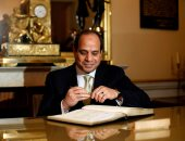 """السيسى يجرى حوارا مهما مع صحيفة """"لوفيجارو"""" حول العلاقات المصرية الفرنسية"""