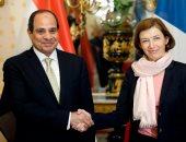 السيسى يشيد بالتعاون المثمر القائم بين مصر وفرنسا فى المجال العسكرى