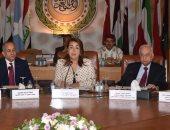 غادة والى من جامعة الدول العربية: العمليات الإرهابية تزيدنا عزما وإصرارا
