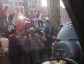 مصرع شخصين وإصابة 10 آخرين فى انقلاب سيارة بالمنيا