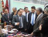 نائب وزير المالية: جودة المنتجات آلية فعالة لنجاح معرض المصنوعات اليدوية
