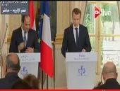 ماكرون: أمن مصر من أمن فرنسا وملتزمون بتعزيز علاقات البلدين