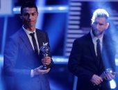 حفل توزيع جوائز الفيفا 2017.. تعرف على تصويت رونالدو وميسي لأفضل لاعب