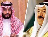 ولى العهد السعودى يعزي هاتفياً نائب رئيس الحرس الوطني الكويتى في وفاة الشيخ صباح الأحمد