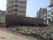 بالصور.. اضبط مخالفة.. مدرسة كفر صقر الجديدة تحاصرها القمامة
