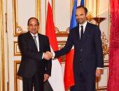 بالصور.. رئيس وزراء فرنسا: الشركات الفرنسية مهتمة بتوسيع نشاطاتها فى مصر