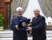 الإمام الأكبر: مجلس الدولة له دور مهم فى حفظ الحقوق والحريات
