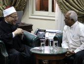 مفتى الجمهورية يستقبل مفتى بورما ويؤكد دعمه الكامل لقضية مسلمى الروهينجا