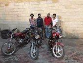 ضبط تشكيل عصابى تخصص فى سرقة الدراجات النارية ببورفؤاد