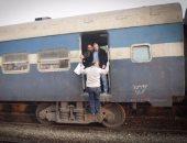 تأخر قطار الإسكندرية - القاهرة ساعتين بسبب تعطل جراره بمحطة ايتاى البارود