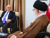 """المرشد الإيرانى لـ""""العبادى"""": الانتصارات العراقية مشروع للنهوض فى المنطقة"""