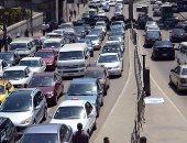 شلل مرورى أعلى محور المريوطية والمواطنين يشكون غياب رجال المرور